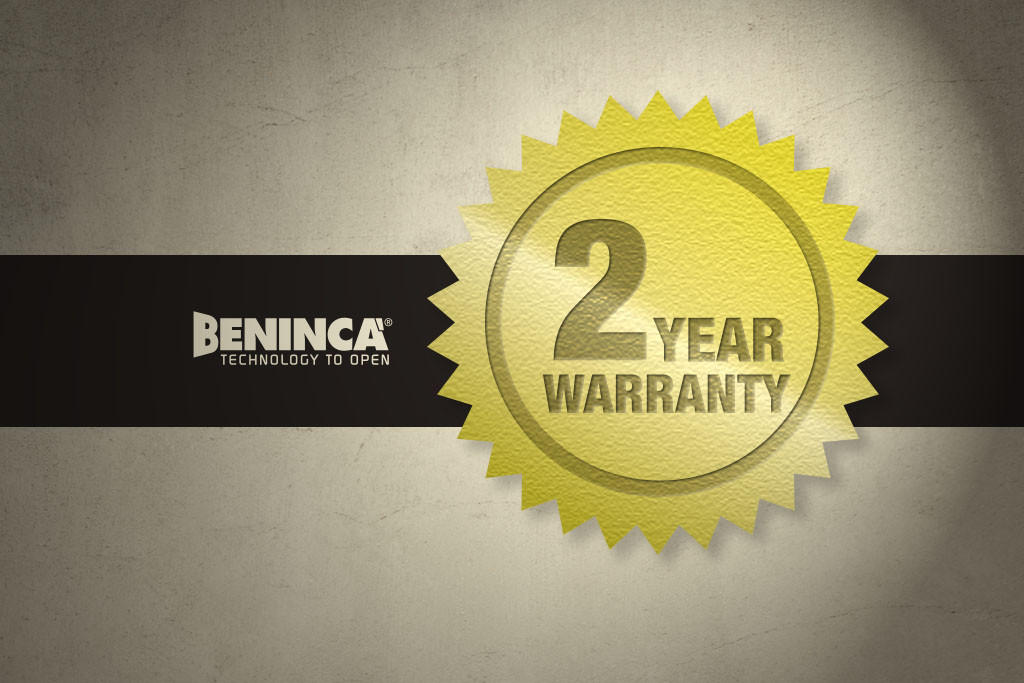 Beninca Warranty & Servicing